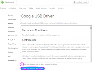 Google USB Driver   Android Developers2